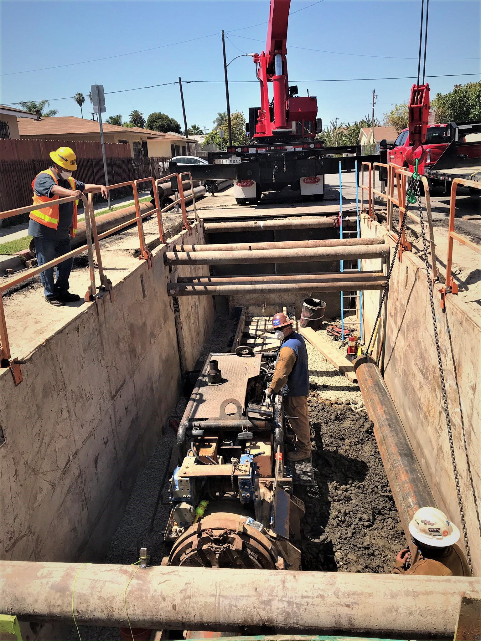 Lucien Street Waterline Project