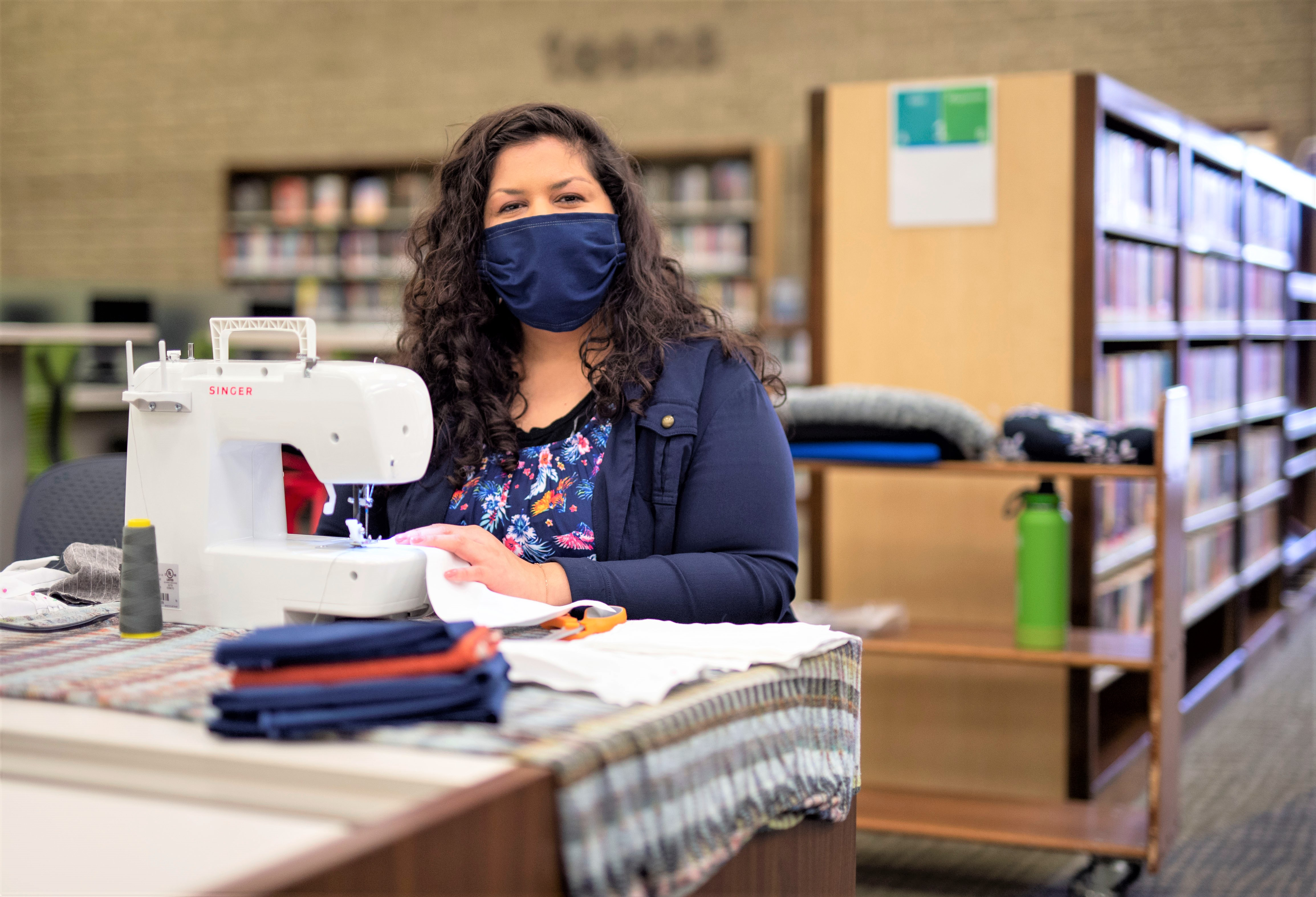 Helping Save Lives:  LA County Library PPE Program